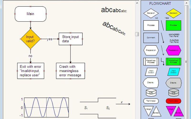 Скриншот 1 программы Diagram Designer