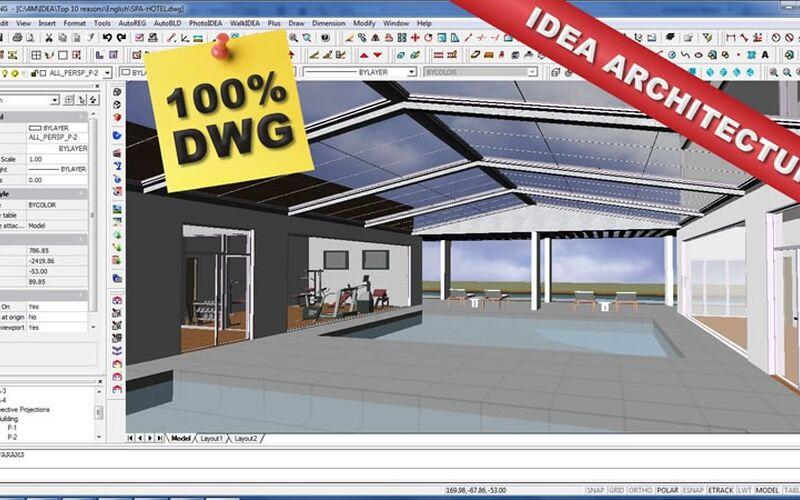 Скриншот 1 программы IDEA Architecture
