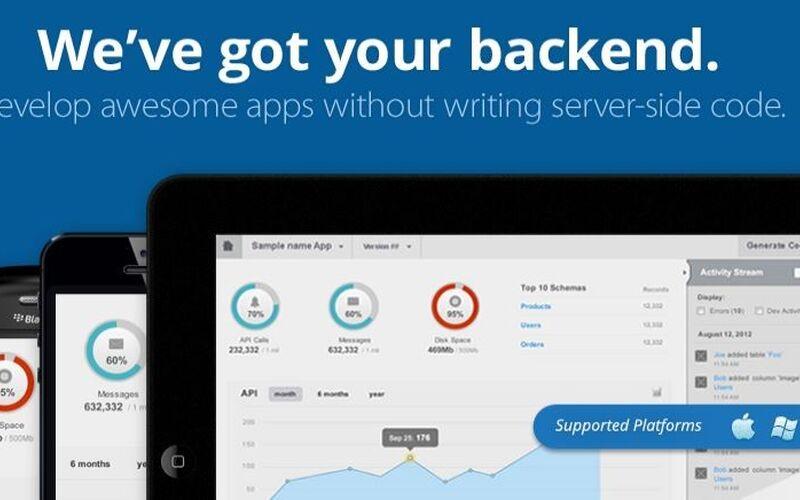 Скриншот 1 программы Backendless