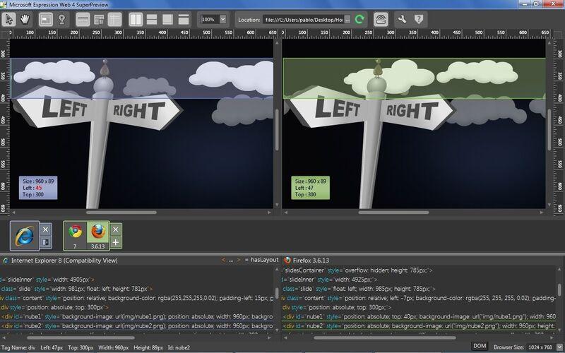 Скриншот 1 программы Microsoft Expression Web