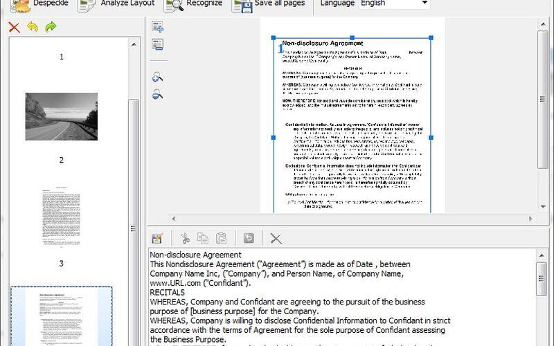 Скриншот 1 программы Scanitto Pro