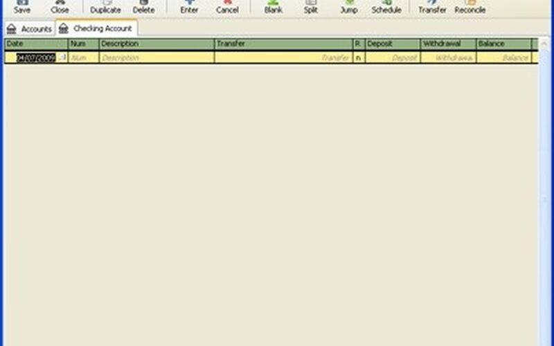 Скриншот 1 программы GnuCash