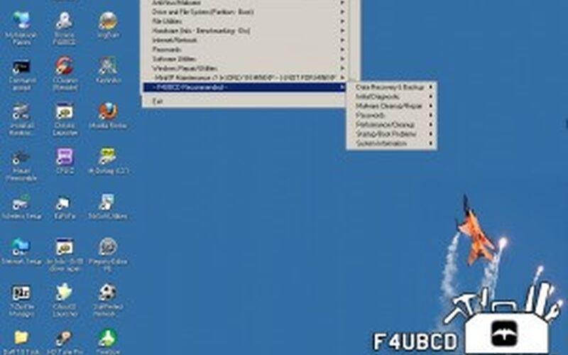 Скриншот 1 программы FalconFour's Ultimate Boot CD
