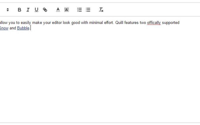 Скриншот 1 программы Quill