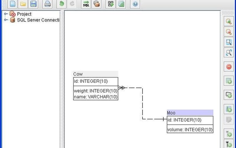Скриншот 1 программы SQL Power Architect