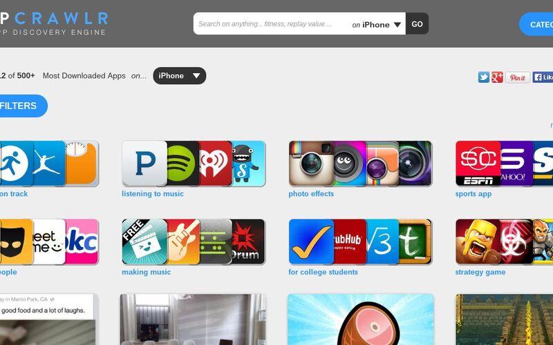 Скриншот 1 программы AppCrawlr