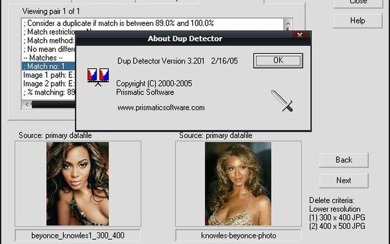 Скриншот 1 программы DupDetector