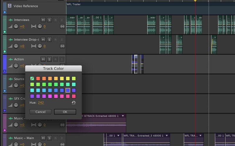 Скриншот 1 программы Adobe Audition