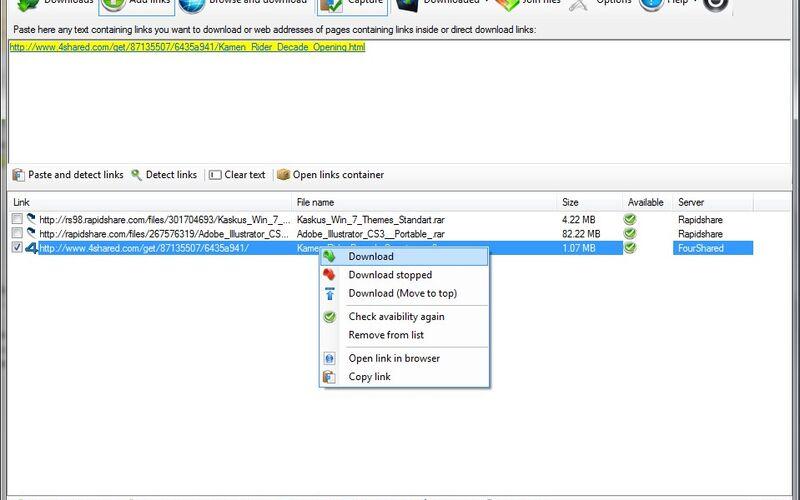 Скриншот 1 программы Mipony