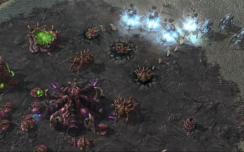 Скриншот 1 программы Starcraft