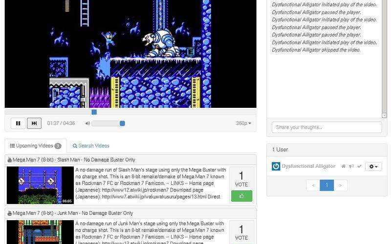 Скриншот 1 программы TogetherTube