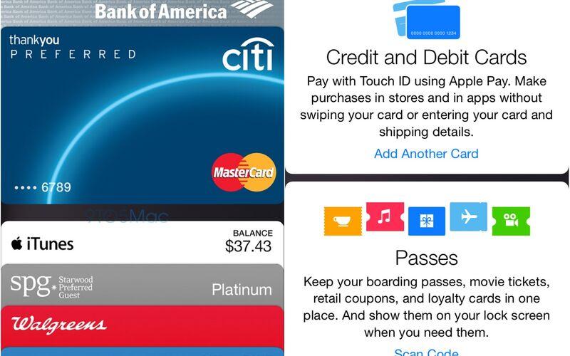 Скриншот 1 программы Apple Wallet