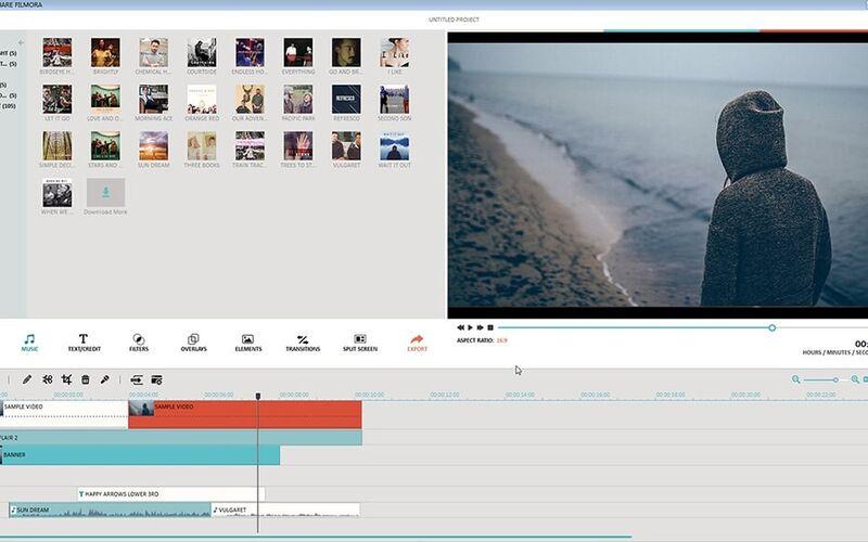 Скриншот 1 программы Wondershare Filmora