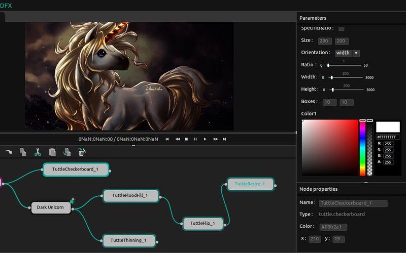 Скриншот 1 программы ButtleOFX