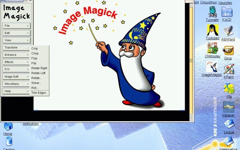 Скриншот 1 программы ImageMagick