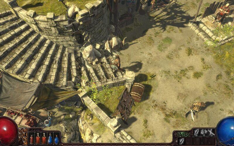 Скриншот 1 программы Path of Exile