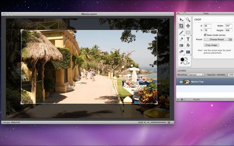 Скриншот 1 программы Acorn