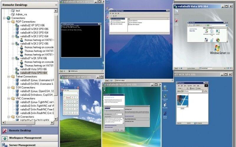 Скриншот 1 программы ASG-Remote Desktop
