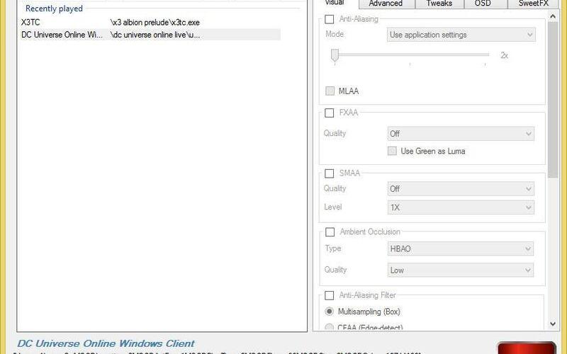 Скриншот 1 программы RadeonPro