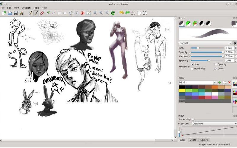 Скриншот 1 программы DrawPile