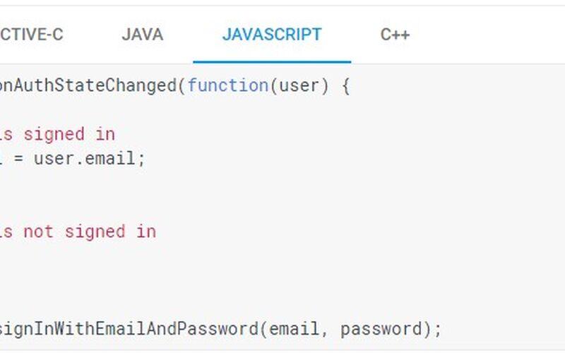 Скриншот 1 программы Firebase