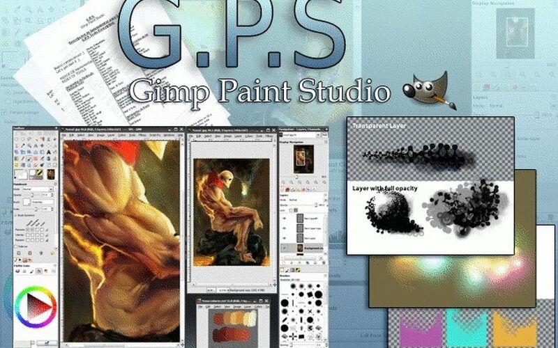 Скриншот 1 программы Gimp Paint Studio