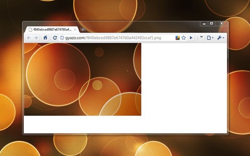 Скриншот 1 программы Gyazo