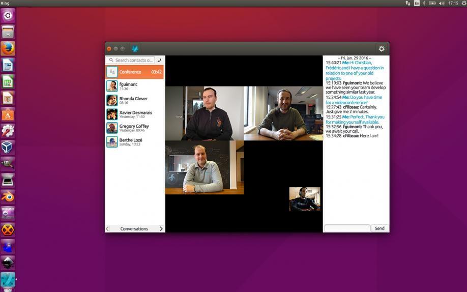 Скриншот 1 программы Ring