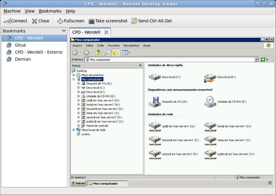 Скриншот 1 программы Vinagre